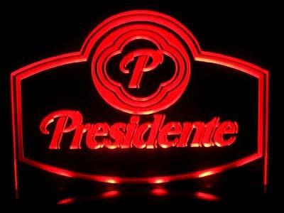 Presidente Beer Real LED Desk Lamp Night Light Lager Bar Pub Signs