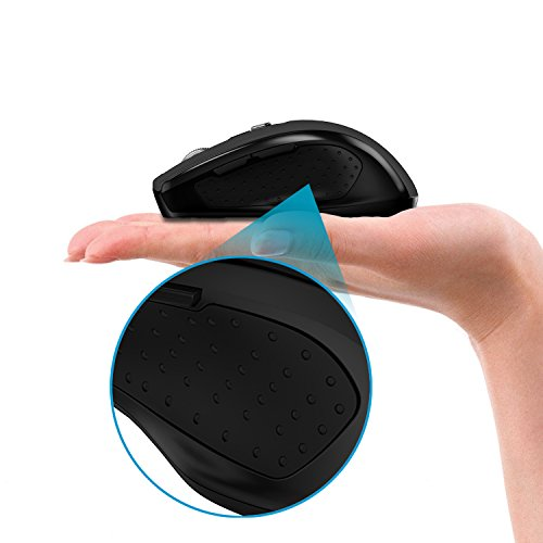 JETech M0884 Bluetooth Wireless Mouse for PC, Mac, and Android OS Tablet with 6-month battery life by JETech (Image #3)