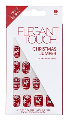 Elegant Touch Weihnachts Trend Nägel - Christmas Jumper, 1 Stück