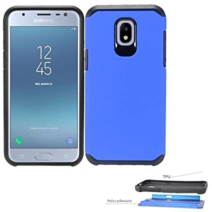 Amazon.com: Carcasa híbrida de doble capa para Samsung ...