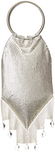 whiting-davis-metal-mesh-crystal-deco-drops-ring-messenger-bag-satin-silver-one-size