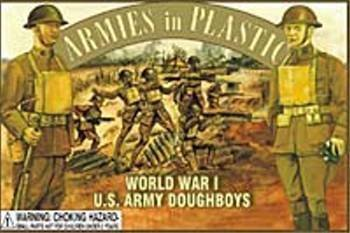 """Armies in Plastic WWI Doughboys Offered By Classic Toy Soldiers, Inc by """"Classic Toy Soldiers, Inc"""" from Classic Toy Soldiers, Inc"""