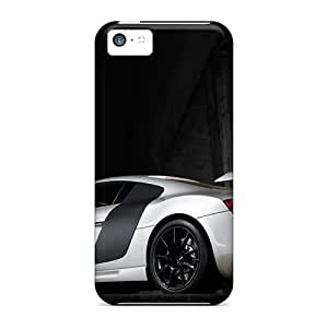 New Style Phone Case Hard Case Cover For Iphone 5c- 2008 Ppi Audi R8 Razor Rear Side