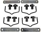 JEGS 90098-1 Replacement Hardware For Cargo Carrier 555-90098 Includes: (4) Moun