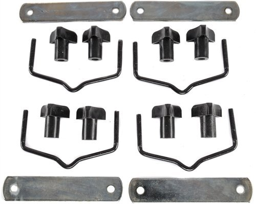 Cargo Hardware - JEGS 90098-1 Replacement Hardware For Cargo Carrier 555-90098 Includes: (4) Moun