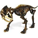 Geoworld Prehistoric Icebergs Sabre Tooth Tiger Skeleton Assembly Set
