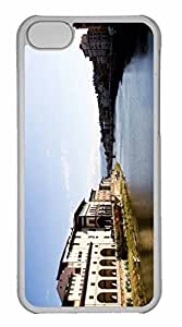 iPhone 5C Case, Personalized Custom Florence Landscape for iPhone 5C PC Clear Case