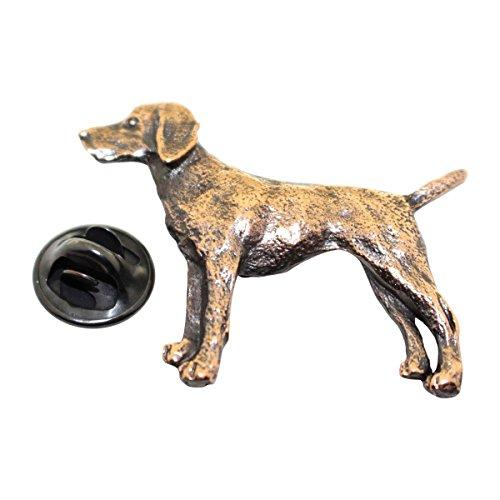 Vizsla Pin ~ Antiqued Copper ~ Lapel Pin ~ Sarah's Treats & Treasures