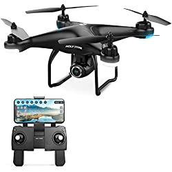 Holy Stone HS120D FPV Drone with 1080p HD Camera, GPS Return Home, Long Range with Follow Me Selfie Functions