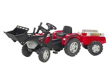 Falk m mc cormick traktor mit frontlader und anhänger set
