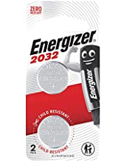 Energizer Lithium Coin CR2032BS2 (Packaging may vary), 2ct