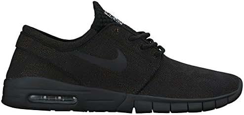 Nike Air Max Bruin Vapor Mens Fashion Sneakers 882097 081_9 BlackCircuit Orange White Black