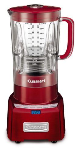 Cuisinart CBT-1000MR PowerEdge 1.3 Horsepower Blender with BPA Free Jar, 64-Ounce, Metallic Red (Cuisinart Shake Blender compare prices)