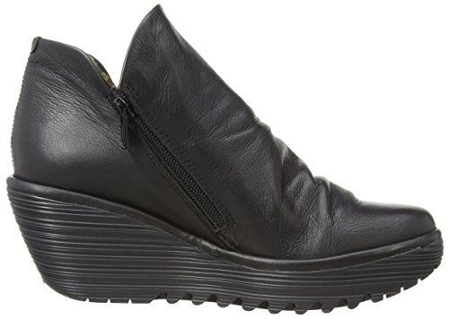 Yip Boot FLY Touch Black London Women's 44qxE60B