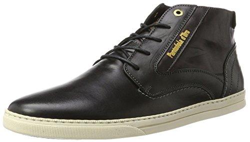 Alto Pantofola Sneaker Collo Mid Black d'Oro Vigo Nero a 25y Uomo wqwgF