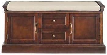 Home Decorators Collection Royce Storage Smokey Brown Bench
