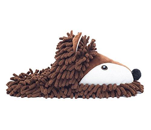 Brown Ofoot pour fox Chaussons femme qqTfz6