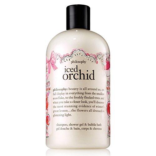 Shower Gel Moisturizing Philosophy - Philosophy Shower Gel - Iced Orchid - 16 oz