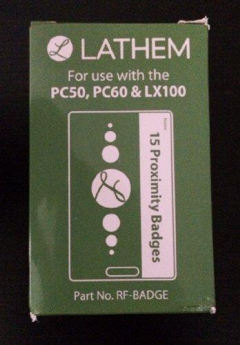Lathem Proximity RFID Badges for Lathem PC600, FR700, CT70, CT72, CT74, PC50, & PC60, Pack of 15 (RF-BADGE)