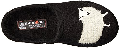 Slipper Haflinger Slipper Women's Black Women's Sheep Haflinger Black Sheep Haflinger gvwd8Sqf