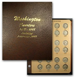 (1932-1998 P,D,S Washington Quarters Set (In Dansco Album) About Uncirculated)