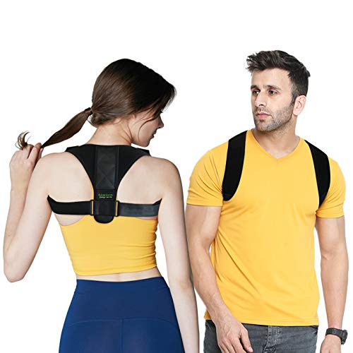 Back Posture Corrector Unisex Back Support for Slouching Effective Comfortable Adjustable Clavicle Support