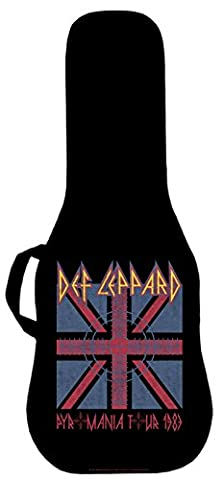 Official Def Leppard Pyromania 1983 Tour Electric Guitar Case. Printed panel is interchangeable (Acoustic Guitar Phitz)