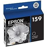 Epson T159120 UltraChrome Hi-Gloss  Photo Black Cartridge