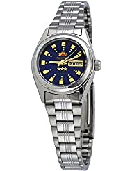 Orient #BNQ1X003J Womens Tri Star Blue Dial Automatic Watch
