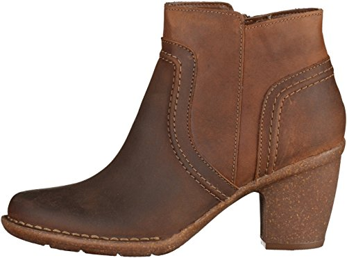 Bottine Marron 261204034 Femmes Paris Clarks Carleta 8qIZ87