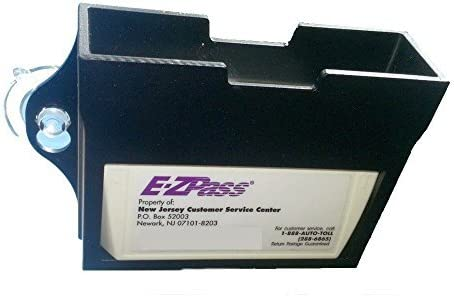 EZ Pass Toll Tag Holder,Fits New /& Old Transponder,i-Pass,i-Zoom Clear