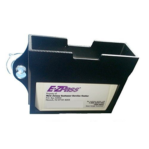 EZ Pass Toll Tag Holder,Fits New & Old Transponder,i-Pass,i-Zoom, Black Color: Black, Model: , Car & Vehicle Accessories / - Mall Nj Gardens