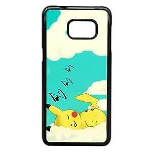 Phone Accessory for Samsung Galaxy S6 Edge Plus Phone Case Pikachu P1415ML