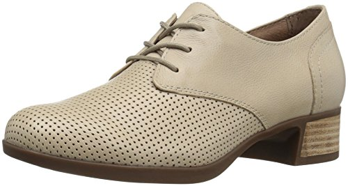 Dansko Women's Louise Oxford, Sand Burnished Nappa, 37 EU/6.5-7 M US by Dansko