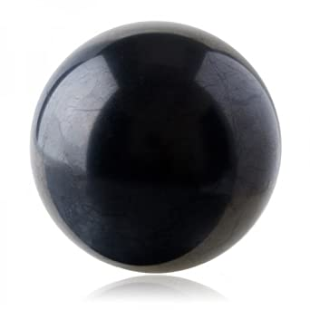 SHUNGITE SPHERE THE STONE OF LIFE- 100MM Polished