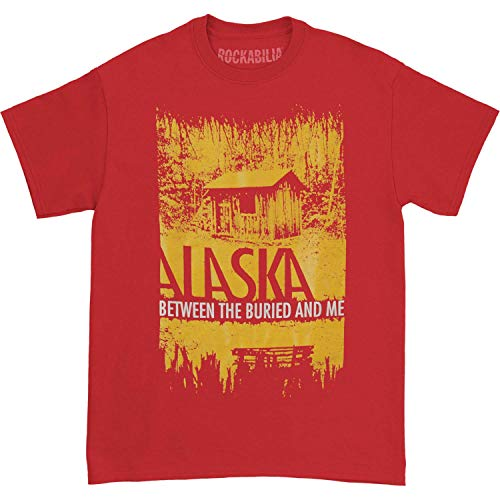 Between The Buried And Me Men's Cabin Fever T-shirt Large Red (Between The Buried And Me T Shirt)