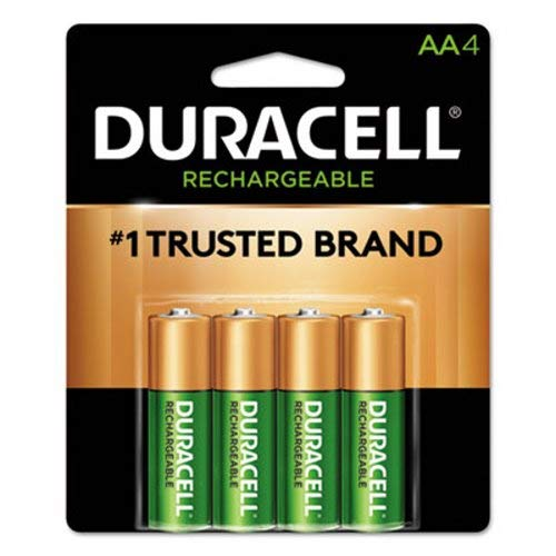 Precharged Recharg. Battery, AA, NiMh, PK4 ()