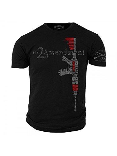 Style Tee T-shirts - Grunt Style 2nd Amendment Men's T-Shirt (M)