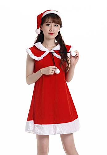 YFFaye Women's Girls Little Red Riding Hood Christmas Costume Cosplay Party (Sexiest Marvel Women)