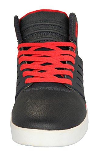 Supra Caballeros Sneakers SKYTOP III Midnight Wrinkled FG