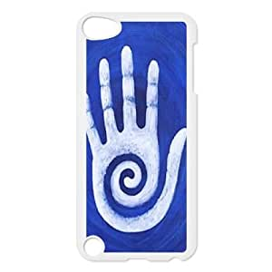 Clzpg DIY Ipod Touch 5 Case - Palm cell phone case