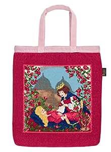 Feiler Sleeping Beauty Tote Hand Bag, Multi Color