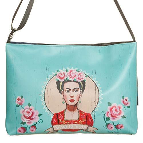 Frida Multicolore Pia A Orizzontale Tracolla Borsa xwnP0qzgB