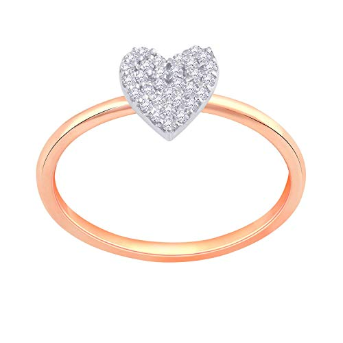 Malabar Gold and Diamonds 18KT Rose Gold Ring for Women