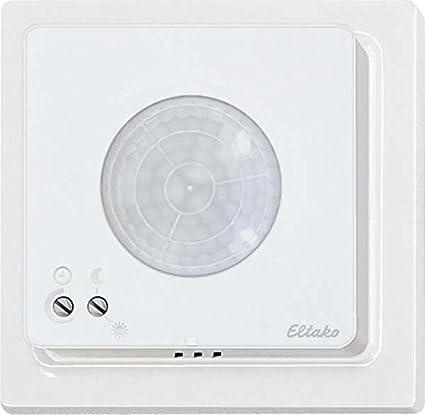Eltako fbh65tfb-wg - Sensor Radio/Movimiento luminosidad Blanco