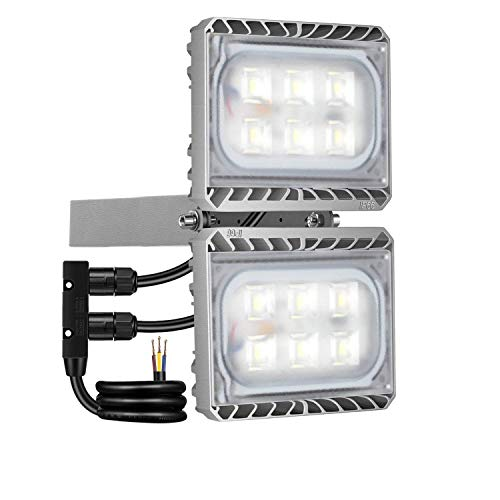 60W LED Flood Light, STASUN 5400lm LED Security Lights Outdoor with Wide Lighting Area, 6000K Daylight, Built with Cree LED Chips, Waterproof, Great for Entryways, Yard, Garage Review
