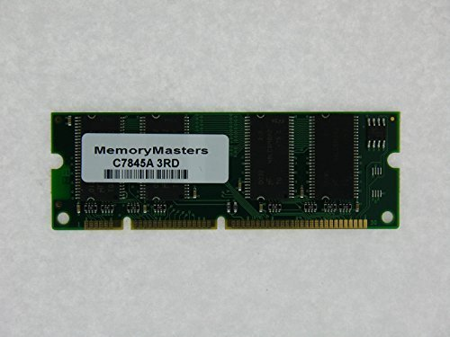 HP C7845A C4143A Q7707A 32MB 100 pin SDRAM MEMORY DIMM for HP LaserJet 1200 2200 4000 4050 5000(MemoryMasters)