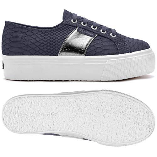 Superga pusnakew Donna Blue Sneaker 2790 wvwqROz