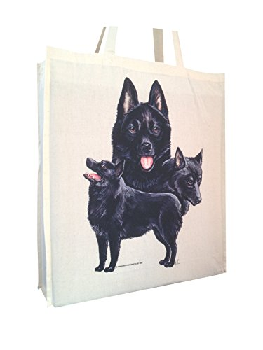 Shopping Gusset Cotton Gift Handles with Bag Schipperke Perfect Long Group and cWHwO1xqEn