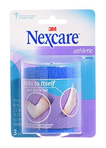 3M Nexcare Active Line Athletic Tape (Blue, 5-Yards)